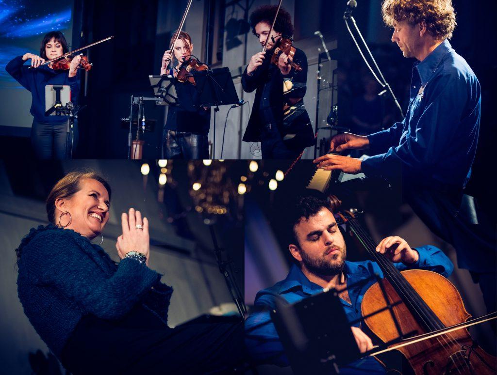 Lief Langedijk Concert met Helen Botman, Red Limo String Quartet en Rob Stoop