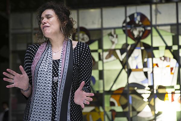 Calista van Amerongen @ video-opnames People by Helen Botman (Photo: Eric Minten)
