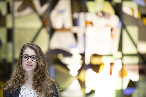 Luna Jongerling @ video-opnames People by Helen Botman (Photo: Eric Minten)