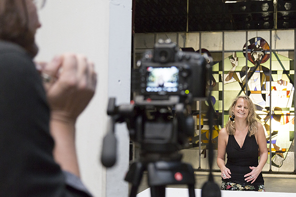 Micha de Groot @ video-opnames People by Helen Botman (Photo: Eric Minten)