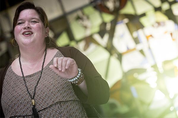 Renilde Stokhof @ video-opnames People by Helen Botman (Photo: Eric Minten)