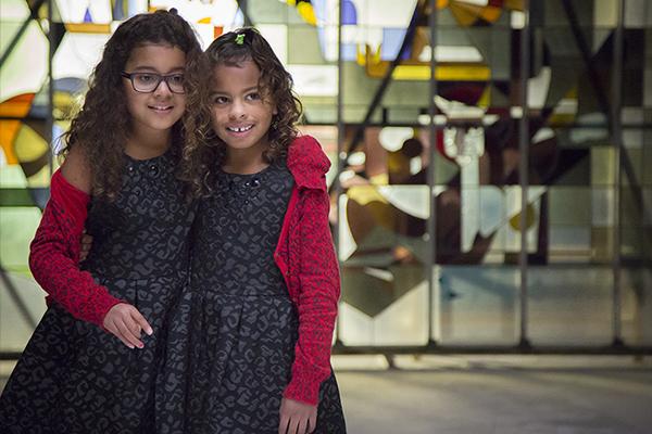 Shola & Tyra @ video-opnames People by Helen Botman (Photo: Eric Minten)