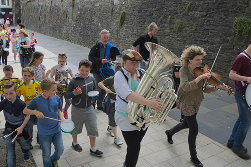 Music Bridge North Ireland programme by Musicians Without Borders