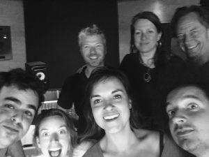 Red Limo String Quartet (Jonas, Camilla, Rani en Sietse), Bart Wagemakers, Helen Botman & Ton Nieuwenhuizen