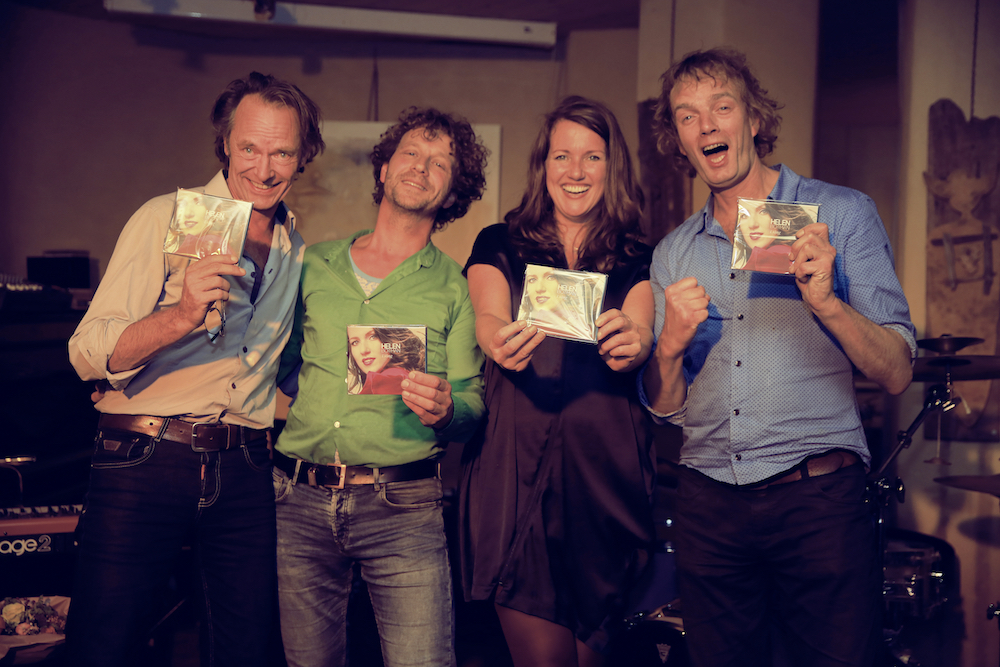 Albumpresentatie I Sing - de band met het album 'I Sing' (foto: Ernest Selleger)