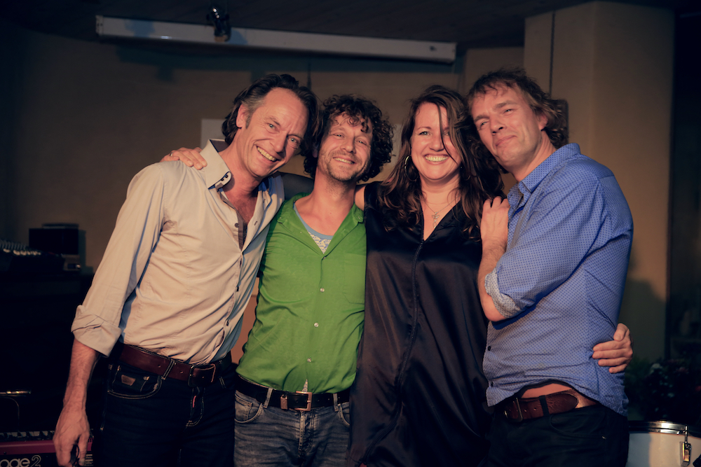 Albumpresentatie I Sing - happy met deze band (foto: Ernest Selleger)