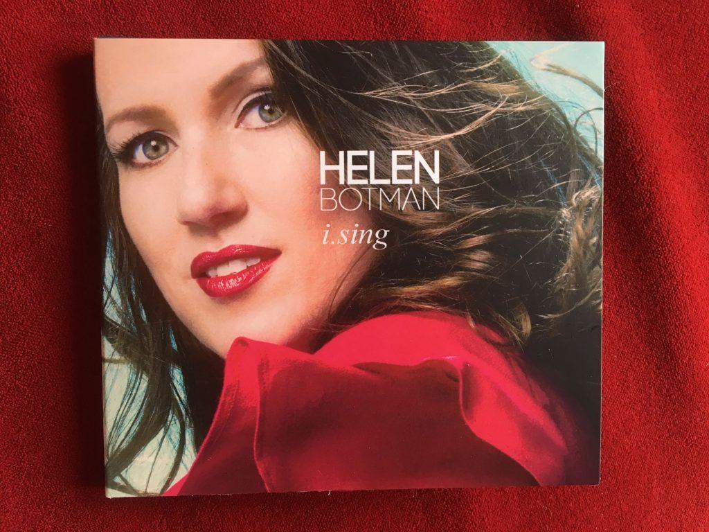 De cd's zijn binnen - het album I Sing
