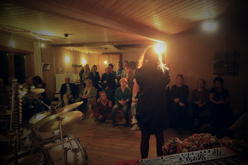 albumpresentatie 'I Sing' (foto: Ernest Selleger)