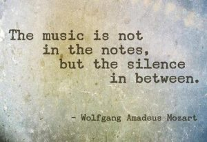 Quote: Music is not in the notes, but in the silence in between.