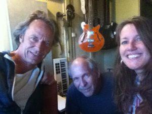 Hammond opnames met Willem Swikker voor het album 'I Sing' in studio3