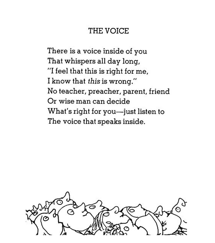 De stem binnenin
