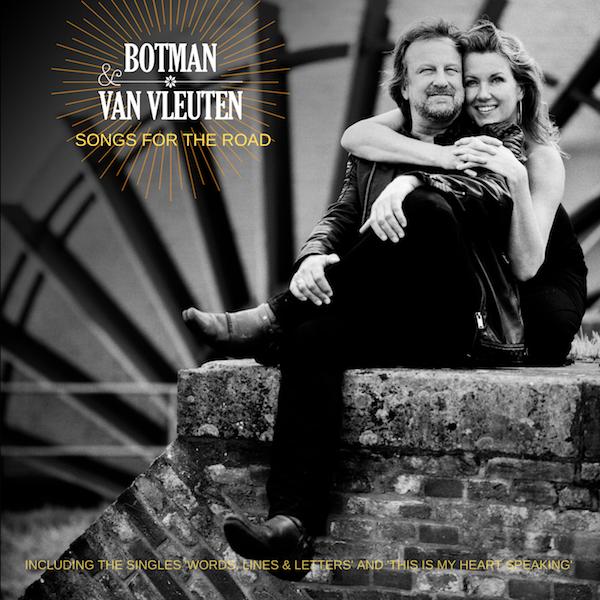 Botman & Van Vleuten - cd-album Songs For The Road (foto: Maarten Corbijn aka Corbino)