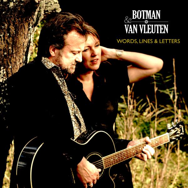 Botman & Van Vleuten - cd-single Words, Lines & Letters (foto: Jessica Heetebrij)