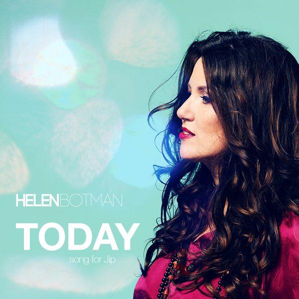 Helen Botman - cd-single Today, Song For Jip (Foto: Saskia Kerkhoff, Dutchlook)