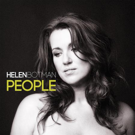 Helen Botman - cd-single People (Foto: Saskia Kerkhoff, Dutchlook)